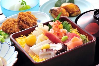 秋のちらし寿司2
